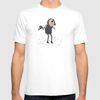 Sad Snake Plissken In A … Mens Fitted Tee White SMALL