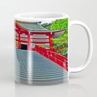 Red Temple Mug