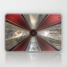 Red in the tower Laptop & iPad Skin