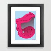 Sciapod Framed Art Print