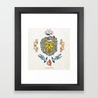 Transmissor Infinito Framed Art Print