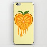 Love Orange iPhone & iPod Skin