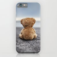 iPhone & iPod Case featuring Teddy Blue by Marko Mastosaari