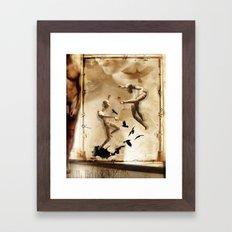 Tarot series: The Lovers Framed Art Print