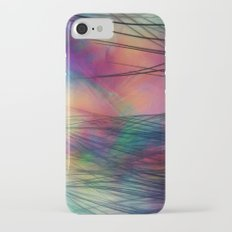 Tropical Feather Abstract III iPhone 7 Slim Case
