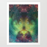 cosmic meditation  Art Print