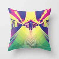 DOUBLE TUNNEL Throw Pillow