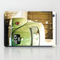 Mrs Olive Green iPad Case