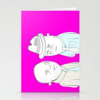 News Reporters Staring C… Stationery Cards