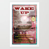 Wake Up Call Art Print