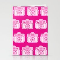 I Still Shoot Film Holga Logo - Reversed Pink Stationery Cards