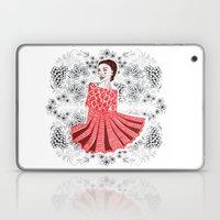 Red Dress Laptop & iPad Skin