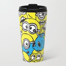 Crowded Minion Travel Mug