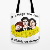 Perks of being a Wallflower Tote Bag