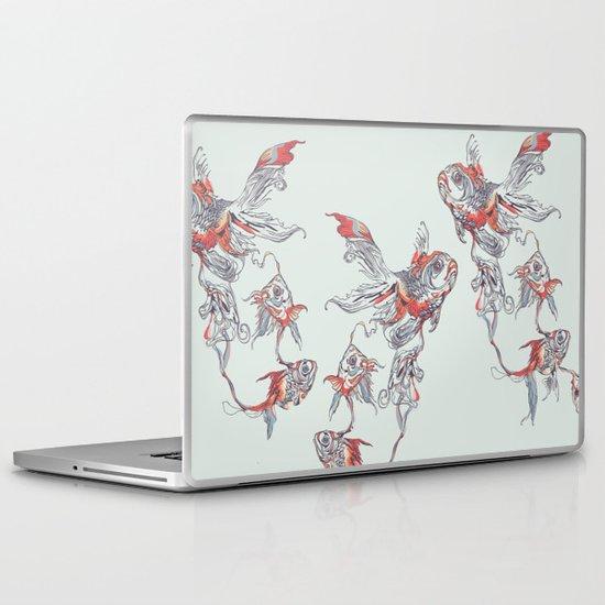 Floating in Deep Laptop & iPad Skin