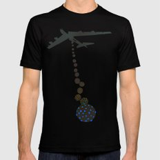 Chocolate Bombs Mens Fitted Tee Black SMALL