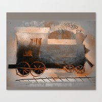 Old Train Ride Canvas Print