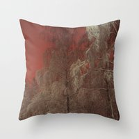 Out of my window Throw Pillow