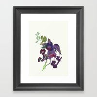 Flor 2 Framed Art Print