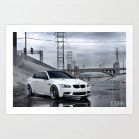 BMW M3 Art Print