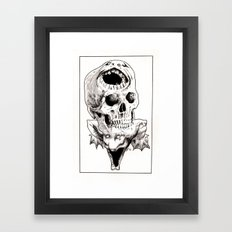 The Laughing Dragon Framed Art Print