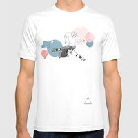 Farewell Bubbles  Mens Fitted Tee White SMALL