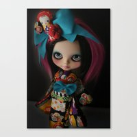 MODERN GEISHA CUSTOM BLY… Canvas Print