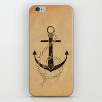Anchor Print iPhone & iPod Skin