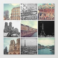 Paris 2012 Canvas Print