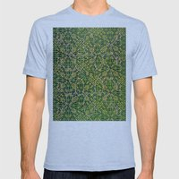 Multi-Defect System 2 Mens Fitted Tee Tri-Blue SMALL