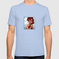 Ariel Mens Fitted Tee Tri-Blue SMALL