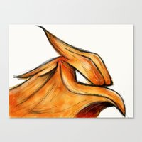 Fire Flight Canvas Print
