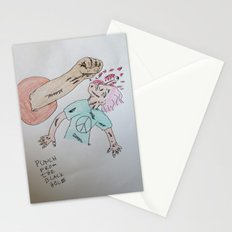 Punch to the Face!!! Stationery Cards