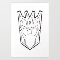 Mickbot Art Print