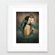 Linger In The Shadows Framed Art Print