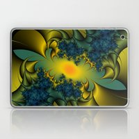 Blue Thistle Laptop & iPad Skin