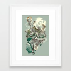 'In Tune with Nature' Framed Art Print