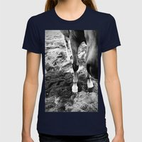 Fancy Feet Womens Fitted Tee Navy SMALL