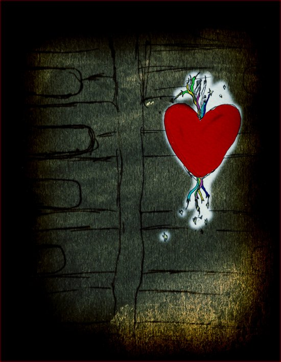Love Malfunction Art Print