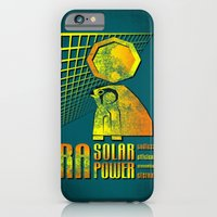 iPhone & iPod Case featuring Ra Solar Power by subpatch