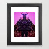 Little Bot Framed Art Print