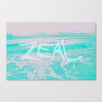 Zeal  Canvas Print