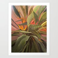 Bird of Paradise 1 Art Print