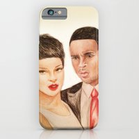 iPhone & iPod Case featuring Rihanna - Chris Brown - Chrianna by Hileeery