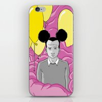 On a Pink Cloud iPhone & iPod Skin