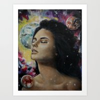 Every Moon For You  Art Print