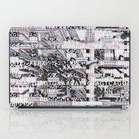 Surrender Your Information (P/D3 Glitch Collage Studies) iPad Case