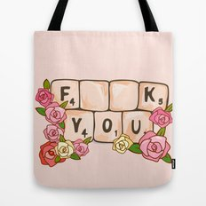 F **U  YOU Tote Bag