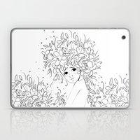 Flowergirl Laptop & iPad Skin
