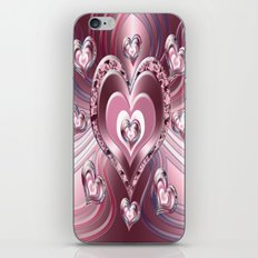 River Flowing Hearts iPhone & iPod Skin
